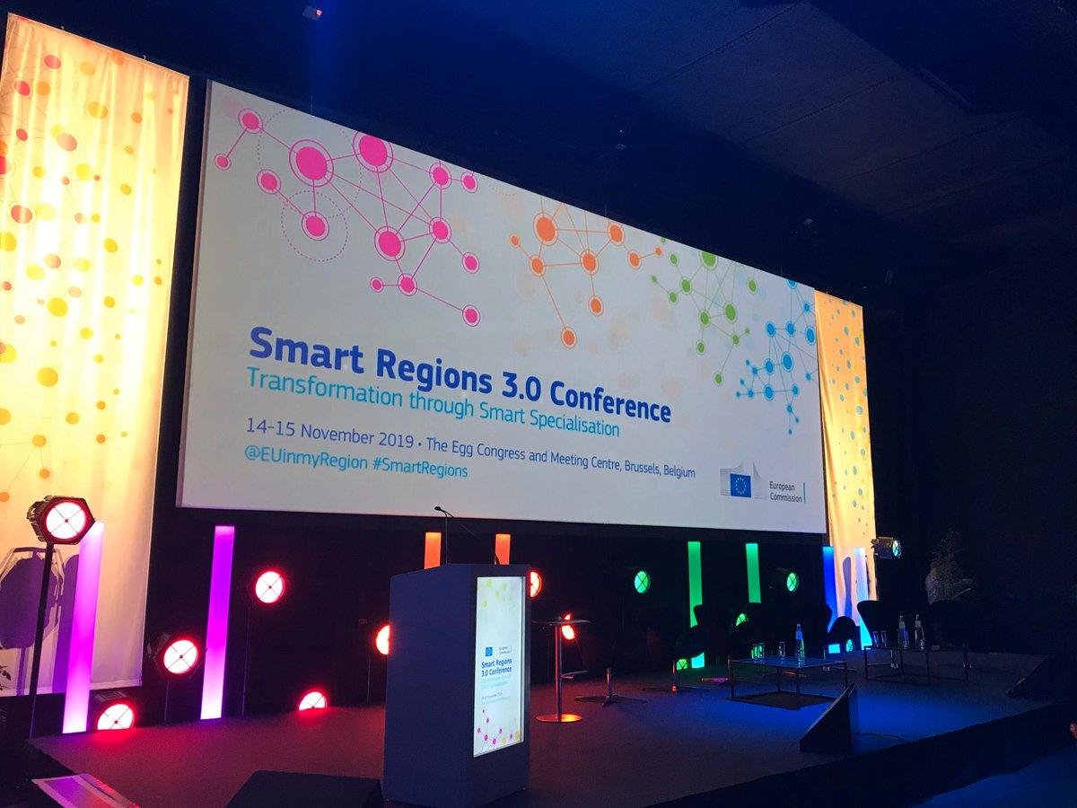 Krzysztof Krystowski prelegentem podczas Smart Regions 3.0 Conference, Bruksela 14-15 listopada 2019