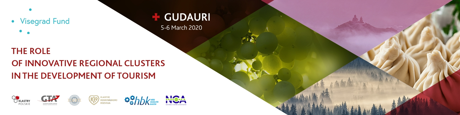 The role of innovative regional clusters in the development of tourism | Gudauri (Georgia) 5-6 March 2020